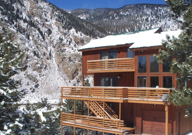 House exterior / great views - Awesome CO Mountain House Hike Out the Front Door - Georgetown - rentals