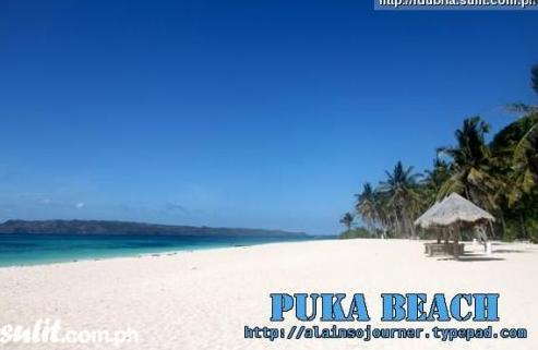 The beach - Colorful Puka Villa in Boracay's Pristine beach - Boracay - rentals