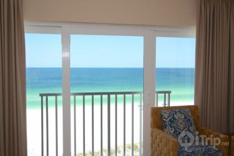Penthouse view of the Gulf of Mexico - Penthouse - Island Inn - Treasure Island - rentals