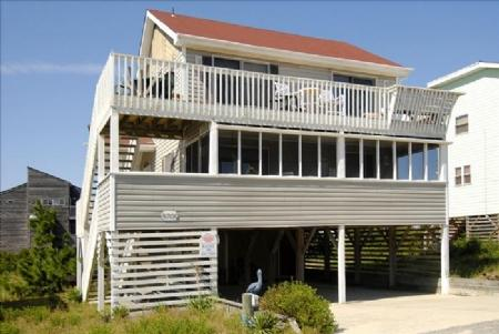 Front elevation - Sunny Delight - Nags Head - rentals