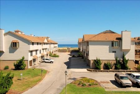 View from back - Anderson Condo - Close to Beach!! - Kitty Hawk - rentals