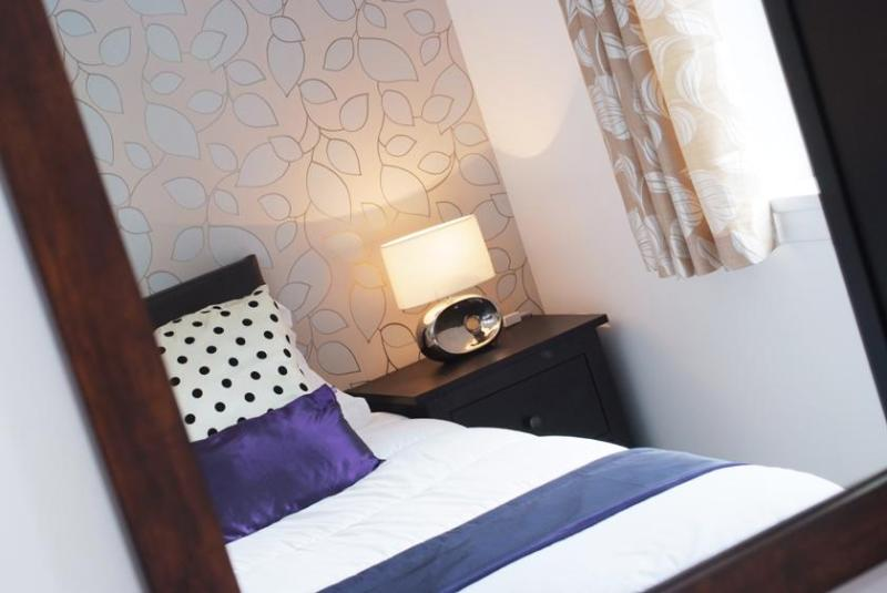 super king size bed or 2 twin beds - Allanfield Apartment -  free parking and WIFI - Edinburgh - rentals