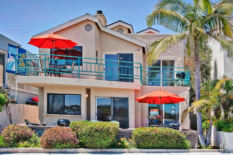 #3263+3265 - BAYFRONT W/Patio and Balcony! - Image 1 - Mission Beach - rentals