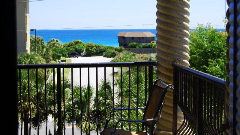 Balcony view of the Gulf - Galileo St Tropez | Pet Friendly | Ocean View - Miramar Beach - rentals