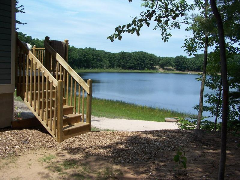 Lake view from home - A tranquil retreat on a small Lake - Bear Lake - rentals