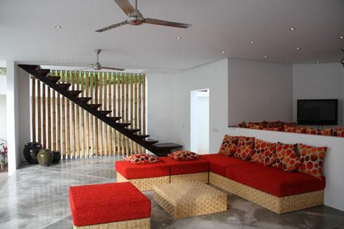 Lounge - Villa Lulu -  2 bedrooms 150 m from SEMINYAK beach - Seminyak - rentals