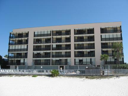 Sand Castle III Indian Shores FL Gulf Front Condo - Image 1 - Indian Shores - rentals