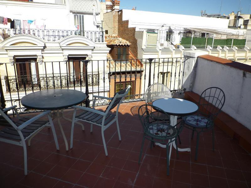 Terrace - Apt:  Terrace between Puerta del Sol / Plaza Mayor - Madrid - rentals