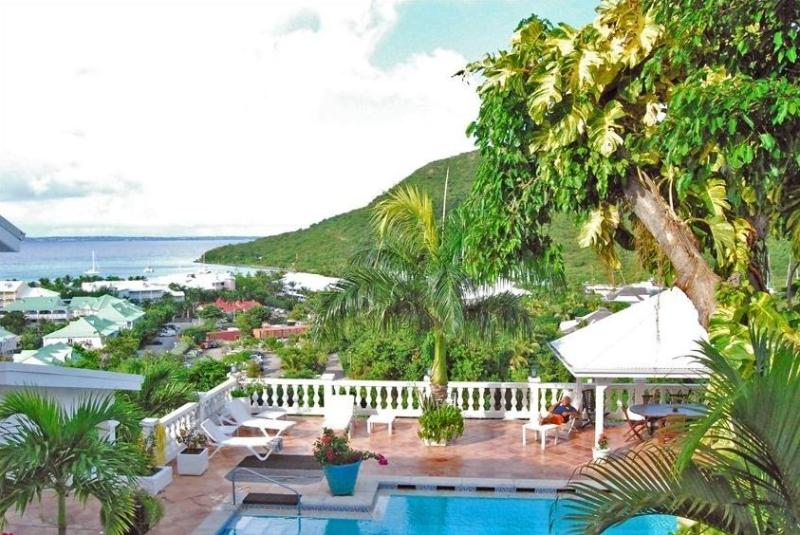 VILLA JOELLE... a truly unique luxury villa made for entertaining, great views and very tropical location - Image 1 - Anse Marcel - rentals