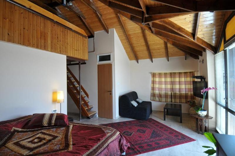 Lounge in Large Family Room # 7 - House57-your home away from home bed and breakfast - Jerusalem - rentals