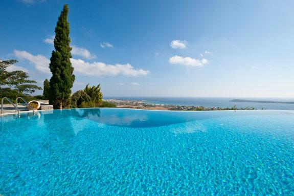 4 bedroom luxury villa with pool near Golden beach - Image 1 - Paros - rentals