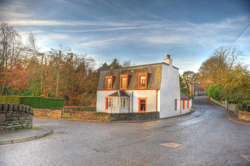 outside view - Milton Villa - Luxury Self Catering - Auchterarder - rentals