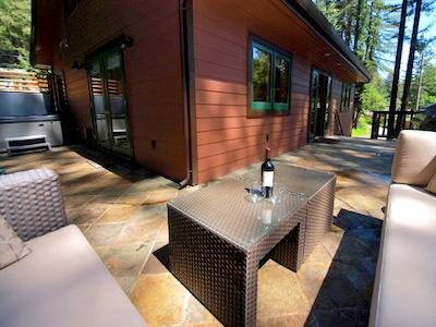 Fairway Woods, wrap-around deck, dog friendly rental - Fairway Woods - Monte Rio - rentals
