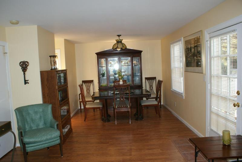 Dining Room view from Living Room - Ocean Retreat by the Shore - Virginia Beach - rentals