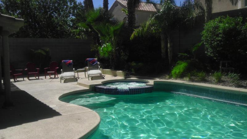 Private pool w/ built in spa - Las Vegas-Elegant - Las Vegas - rentals