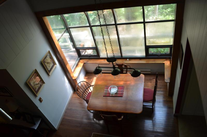 Kitchen View from loft - Clean newer AC SEPT Avail Storyland, Saco WIFI DU - Intervale - rentals