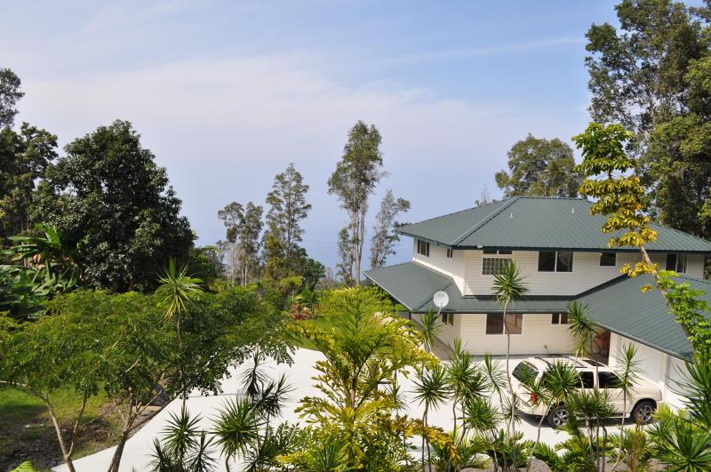 Main House with the ocean view - Relaxation with Ocean View on 5 Acre Private Gated - Captain Cook - rentals