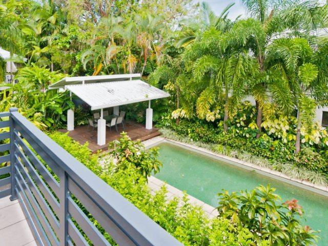View of pool from 2nd bedroom - 3 Flora Gardens - Port Douglas - rentals