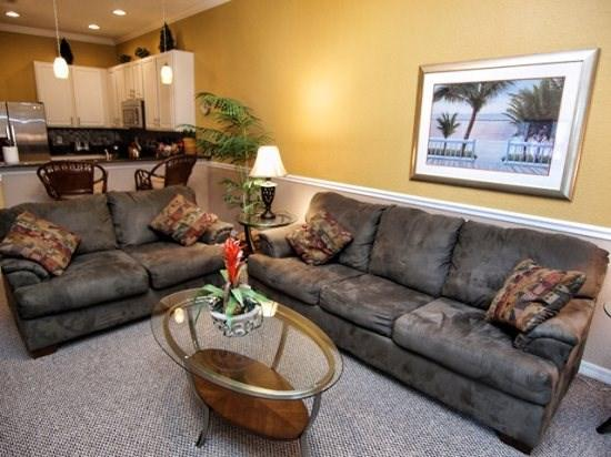 Living Area - BB3C710NPP 3 BR Beautiful Condo Luxuriously Equipped - Davenport - rentals