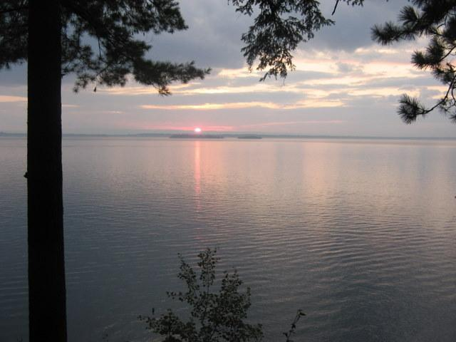 View from screened porch - Lovely Lake Champlain Home--July weeks now avail! - Milton - rentals