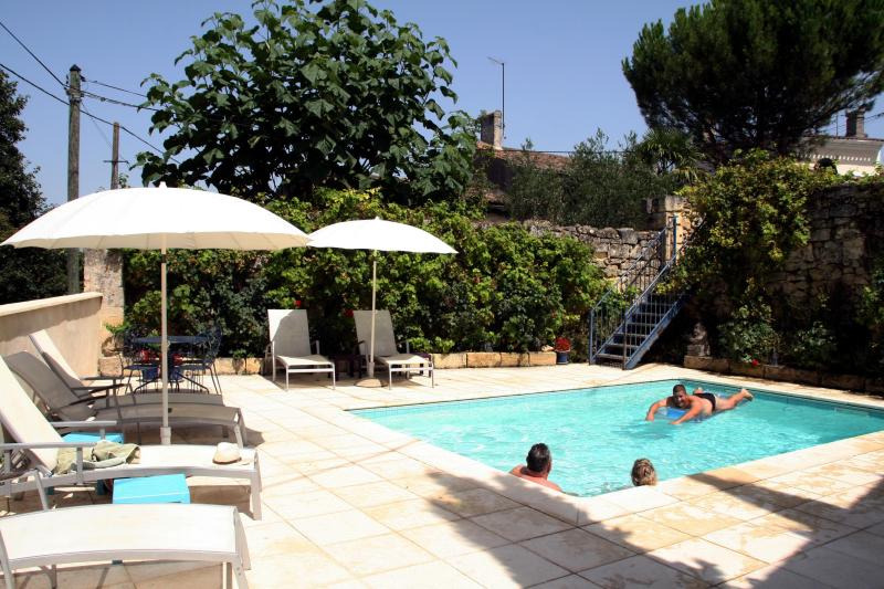 V&R - Pool Terrace - Rose Cottage with Pool amid Bordeaux Vines - Saint-Emilion - rentals