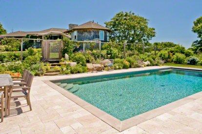 HILLTOP HOUSE WITH WATER VIEWS AND POOL - AQ GGIB-15 - Image 1 - Aquinnah - rentals