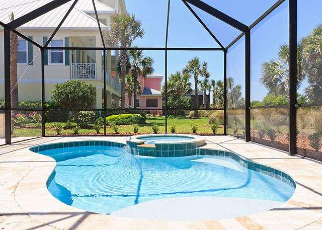 Dancing Dolphin will spoil you! - Dancing Dolphin, 6 bedrooms, Ocean Views, elevator, pool, spa - Palm Coast - rentals