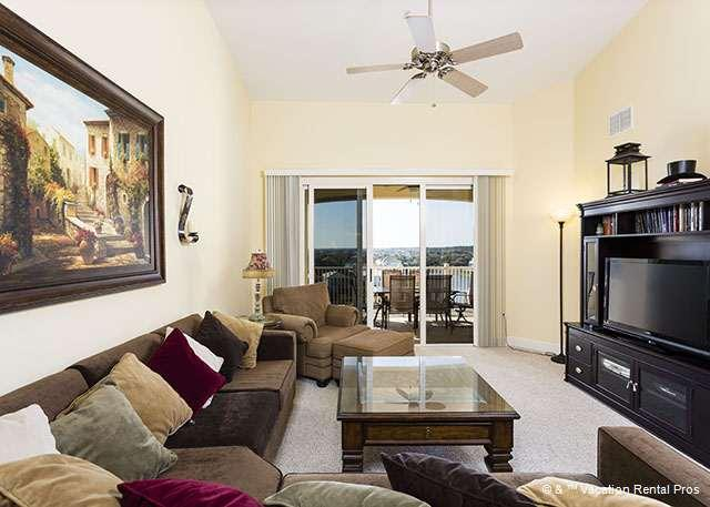 Gather the family for game night - 1162 Cinnamon Beach Penthouse 6th Floor, New Furniture, HDTV - Palm Coast - rentals