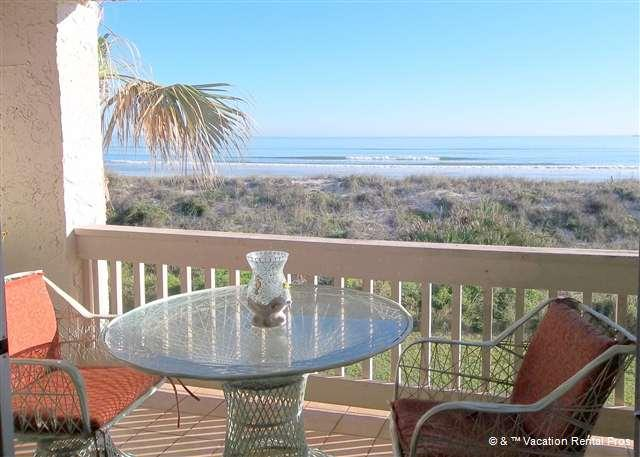Come experience the view in person - Four Winds A-3T, 2 Floors - Ocean Front, 2 heated pools - Saint Augustine - rentals