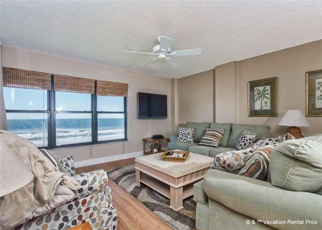Feel right at home at Sand Dollar II 503 - Sand Dollar II 503, 5th Floor, Top Floor, BeachFront, 3 bedrooms - Saint Augustine - rentals