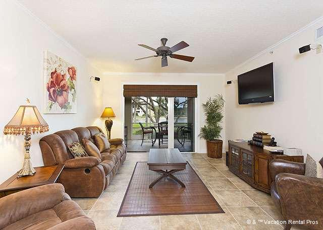 Palm Coast Resort 109 is waiting to fulfill your vacation needs - Palm Coast Resort 109, ground floor condo, with pool, HDTV, Wifi - Palm Coast - rentals