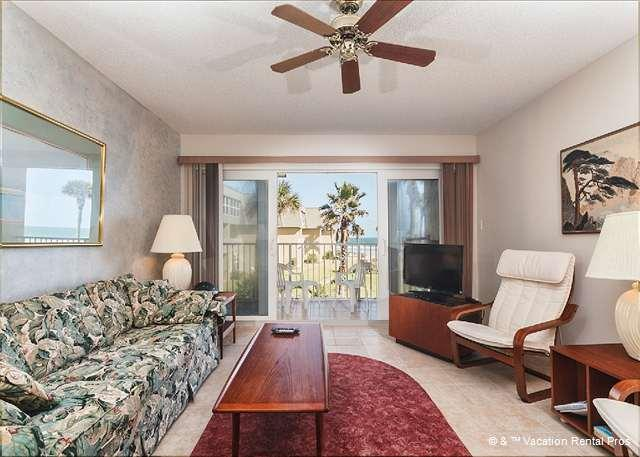 You'll love staying with us for your Florida vacation! - Coquina 203B, Ocean Front, 2 Pools, Tennis, - Saint Augustine - rentals