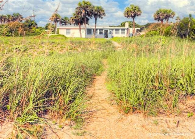 Three Palm is ocean front and has direct beach access - Three Palms Beach House, 4 Bedrooms, Ponte Vedra, Beach Front - Ponte Vedra Beach - rentals