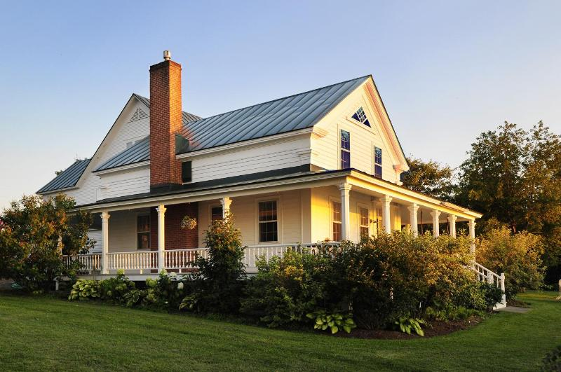 Kelsey House from the north - Kelsey House - Lake Champlain Valley - rentals