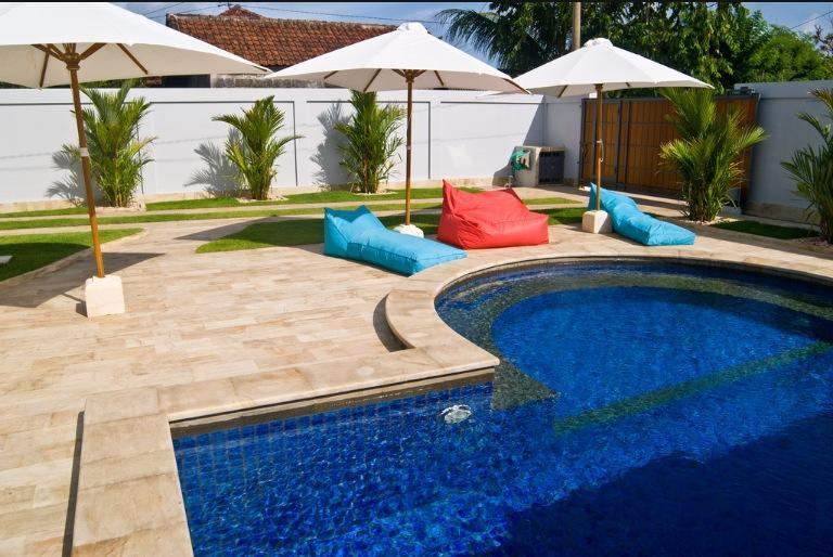 Grande pool for private sunning if desired maticulously maintained - Villa Zsa Zsa  Private Villa with 5 star lifestyle - Nusa Dua - rentals