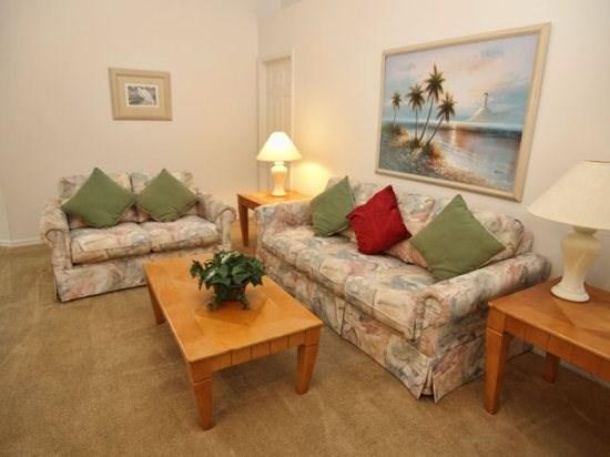 Living Area - FP4P407ED Beautiful 4 Bedroom Pool Home Perfect for Holidays - Davenport - rentals