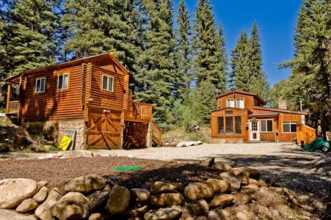 Private Cabin on Spring Creek! Fireplace! Slps 10 - Image 1 - Almont - rentals