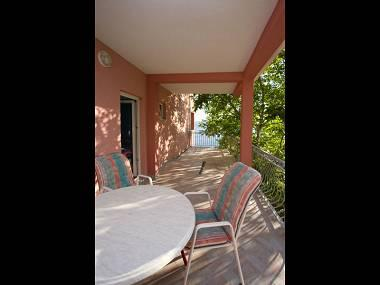 A2(2+2): covered terrace - 5113  A2(2+2) - Stanici - Stanici - rentals