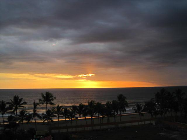 Sunset from Balcony - Vista Mar Elegance - Jaco - rentals