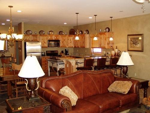 Living and Kitchen - Golf Course Home/River Views 3Bed/3Bath - South Fork - rentals