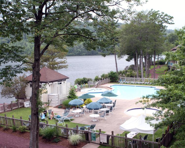 Beautiful view from the balcony - 4 bedroom, breath-taking view of the lake - Lake Harmony - rentals