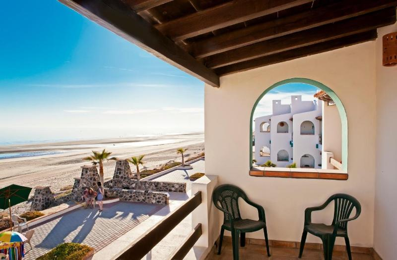 Upstairs balcony in master bedroom - Beach front villa - Rocky Point's best kept secret - Puerto Penasco - rentals