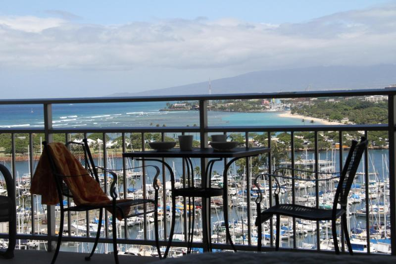 View from lanai - Ilikai 1531 w/ Stunning Oceanview, Fully remodeled - Waikiki - rentals