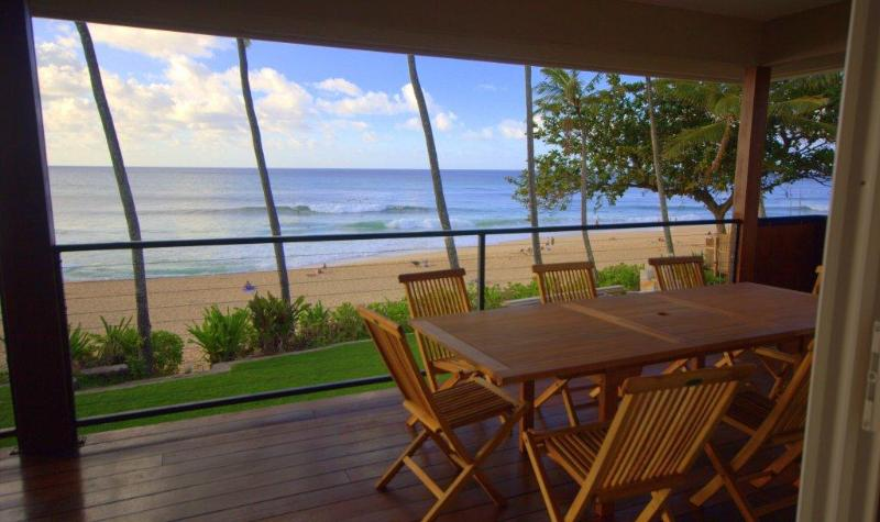 Pipeline House - 5BR, 2 Kitchens, on Sand @ Pipe! - Image 1 - Haleiwa - rentals