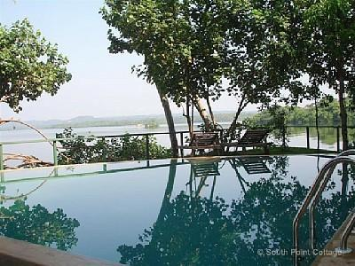 pool - South Point Cottage- lakefront - 1 km to beach - Galle - rentals