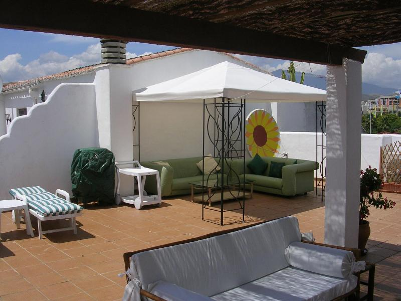 Roof garden - Bloque 1B AD Sun Beach, New Golden Mile, Estepona, Spain. - Estepona - rentals