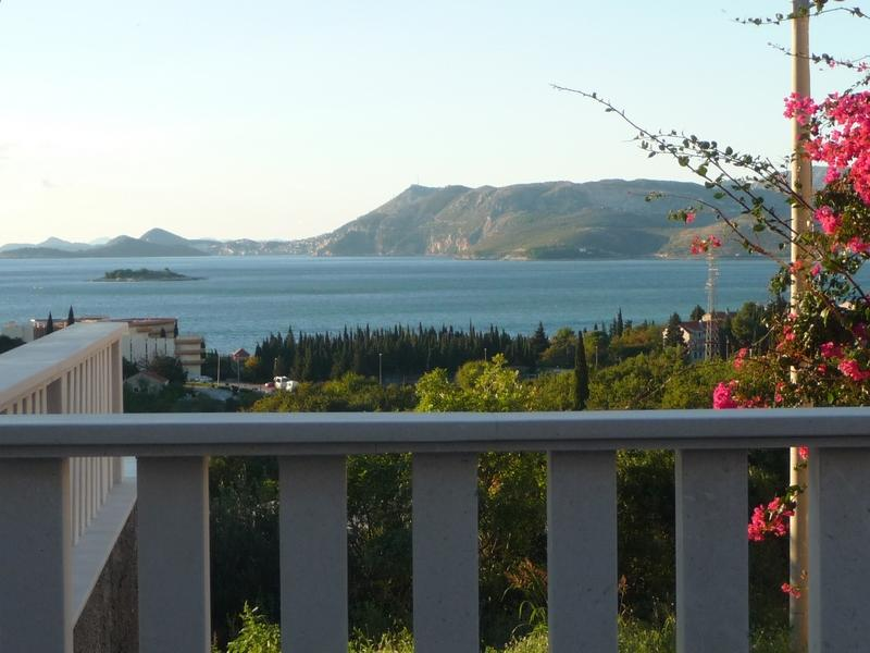amazing sea view from the balcony - Luxury sea-view apartment II - Cavtat - rentals