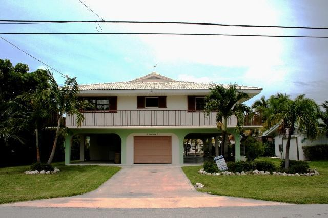 Front of house - Judy's Gem, 3 bedrooms and 2 baths, Unit 34 - Key Colony Beach - rentals