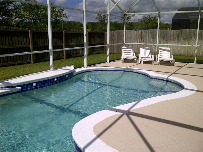 Eagle Pointe -(699EP) - 4BR Pool Home, private fenced backyard - Image 1 - Kissimmee - rentals