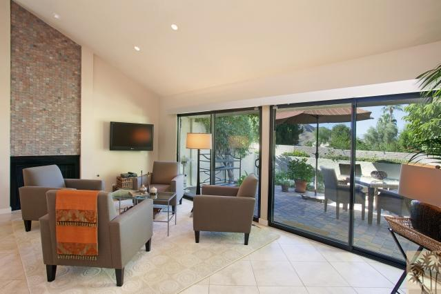 Family Room - Stunning 2-Bed, 2-Bath a Short walk from El Paseo! - Palm Desert - rentals